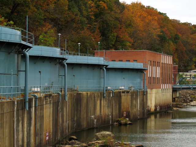 A water treatment plant near the Occoquan river.