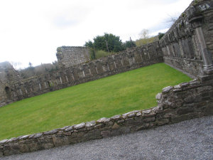 Jerpoint Abbey Courtyard