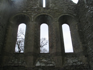 Intricate stonework - windows.