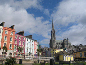 Cobh from the dock.